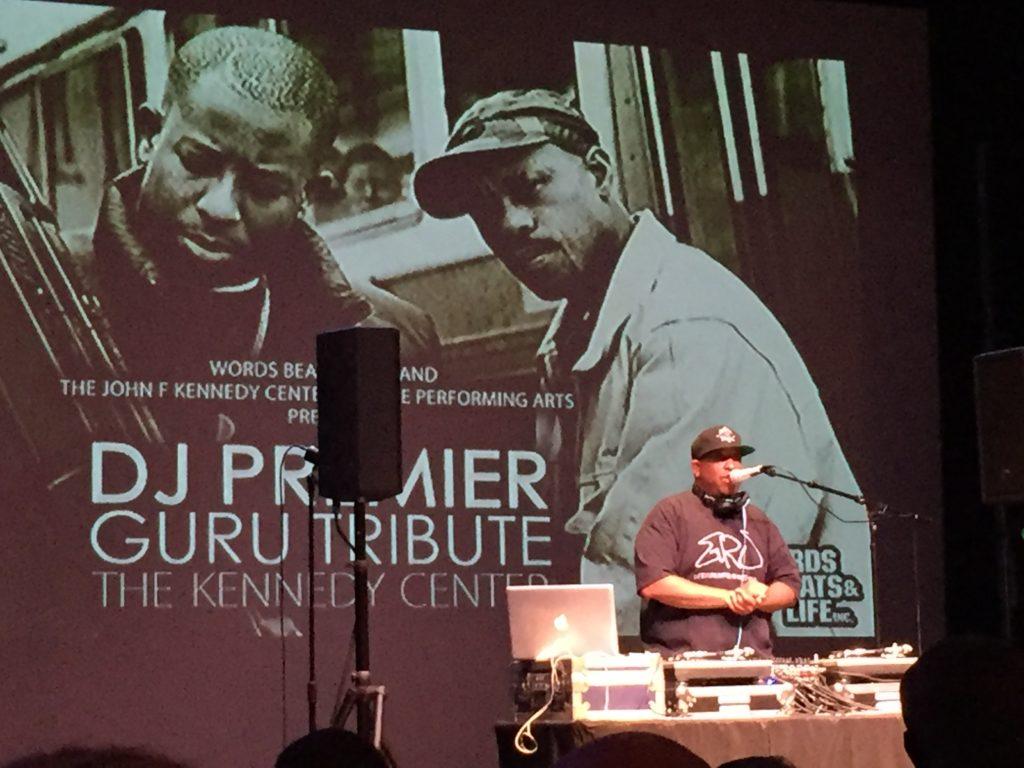 DJ Premier Guru Tribute at Word, Beats & Life Festival